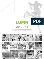Lupin Investor Presentation -May 2011