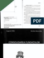 Consolidarea Fundatiilor de Augustin Popa