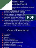 Presentation Format for Investors Utd