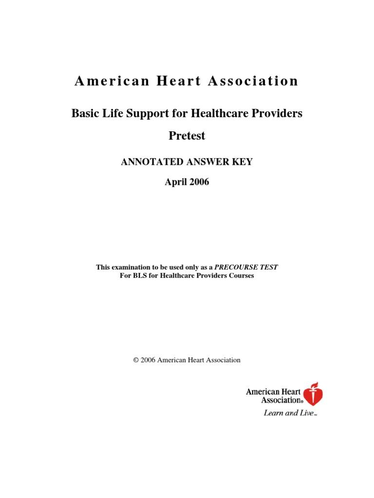 Bls answer key cardiopulmonary resuscitation cardiac arrest 1betcityfo Images