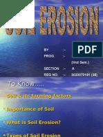 SOIL EROSION presentastion
