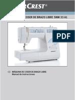 SilverCrest 8750 + SNM 33 A1 (ES)