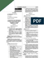 Ley Que Regula El Uso, Preservacin, Desarrollo, Recuperacin, Fomento y Difusin de Las Lenguas Originarias Del Per