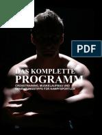 Das komplette Programm Crosstraining, Muskelaufbau und Ernährungt für Kampfsportler