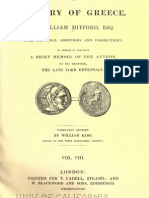 The History of Greece, VOL 8 - William Mitford (1808)