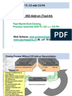 SAP Reconciliation FICO With COPA Add-On Tool