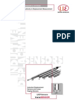 LVDT Displacement Sensors