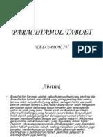 Ppt Paracetamol Tablet