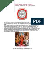TRIPURA SUNDARI THE GODDESS OF BEAUTY, LOVE AND ENJOYMENT.pdf