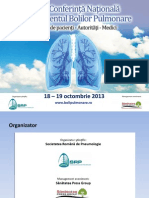 Conferinta Nationala Managementul Bolilor Pulmonare, Ed.iii