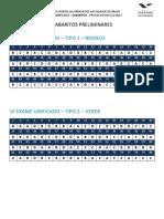 Fgv 2012 Oab Exame de Ordem Unificado 3 Primeira Fase Gabarito