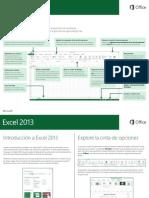 Guía Rápida Excel 2013
