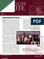 May 2013 Alumni Newsletter