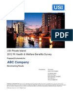 RI Employers - This is the only detailed RI  Benefits Survey... and it's Free.