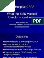 CPAP for Medical Directors