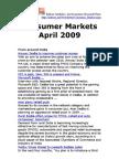 Consumer Markets April 2009