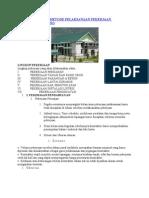 Contoh Standar Metode Pelaksanaan Pekerjaan Konstruksi Gedung