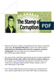 stamp of corruption