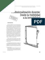 Profesionalizacion Docencte_revista Docencia