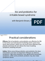 Prebiotics and Probiotics for Irritable Bowel Syndreom (IBS), May 2013