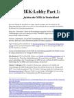 Die MEK-Lobby Part 1 - Die Lobbyisten Der MEK in Deutschland