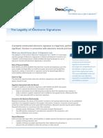 Legality of E-Signatures