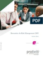 Protiviti Barom Tre Du Risk Management 2009