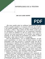 ILLANES J.L. - Vertiente Antropológica de la Teología - Scripta Theologica. 1982, Vol 14 (1), p 105-135