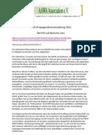 Bericht Demitox 2011