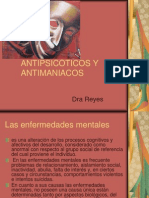 ANTIPSICÓTICOS Y ANTIMANIACOS