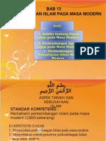 13 Perkembangan Islam Pada Masa Modern