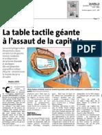 La Dordogne Libre, le 24 Avril 2013
