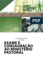 MANUAL DE CONSAGRAÇÃO PASTORAL
