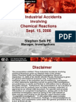 CSB_Two Industrial Accidents involving Chemical Reactions