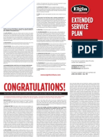 Print - Extended Service Plan