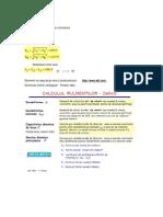 [OM1] TEMA de CASA - Calcul Rulmenti
