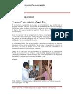 30-05-2013 Boletín 012 'Ya ganamos', apoya ciudadanía a Rogelio Ortiz.