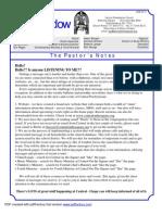 Central Pres newsletter June 2013