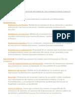 Definiciones Estructurales