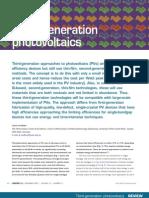Third Generation Photovoltaic