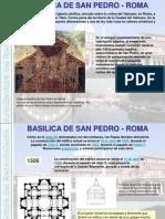 CLASS-4 Basilica de San Pedro