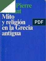 128162575 125826169 Mito y Religion en La Grecia Antigua Vernant PDF