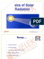3. Basics of Solar Radiaiton