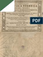 SANZ, G. • Instrucción de Música sobre la Guitarra Española (Zaragoça, 1674) (facsimile music source)