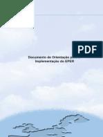Documento de Orientação para a Implementação do EPER (EU)