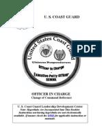01-OIC Change of Command