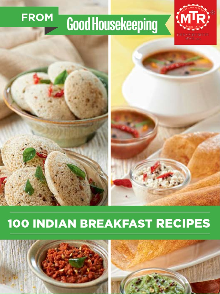 Mtr 100 indian breakfast recipes curry coriander forumfinder Choice Image