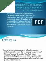 Antecedentes Reforma. Sanit. en Paraguay