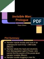invisible man  prologue