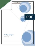 Consumer Behavior analysis of product